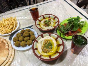 Essen in Amman Jordanien