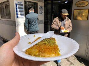 Süßspeise in Jordanien