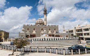 Eine der Moscheen der Stadt