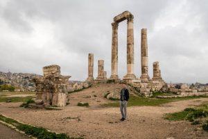 Beliebte Attraktion in Amman ist die Zitadelle