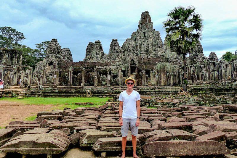Kambodscha Sehenswürdigkeiten in Angkor Wat