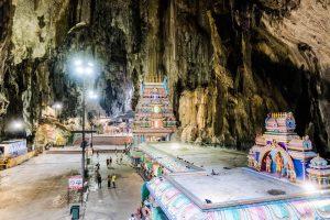 Innenfoto von den Batu Caves, eine bedeutende Kuala Lumpur Sehenswürdigkeit