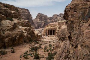 Unterwegs in Petra in Jordanien