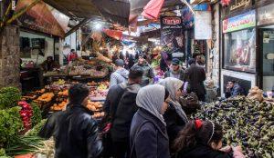 Sehenswerter Markt in Amman Jordanien