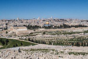 Jerusalem Highlight ist der Blick vom Ölberg