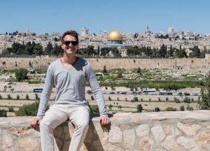 Jerusalem Aussichtspunkt am Ölberg