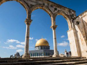 Sehenswerte Jerusalem Attraktion ist der Felsendom