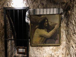 Gefängnis Zelle von Jesus