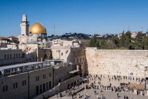 Sehenswerte Orte Jerusalem mit Felsendom und Klagemauer