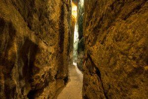 Sehenswerte Tunnel der Western Wall in Jerusalem