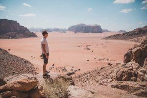 Blick auf Wadi Rum