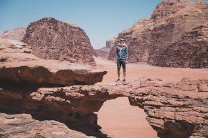 Wüste in Jordanien