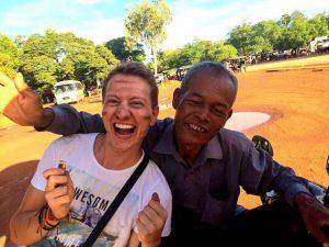 Backpacking Kambodscha mit Tuk Tuk Fahrer