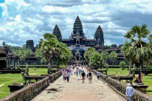 Angkor Wat Attraktionen Kambodscha
