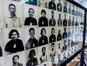 Museum in Phnom Penh, Bilder von Menschen