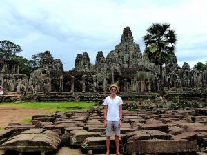 Unterwegs in Angkor Wat