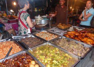 Nachtmarkt Stände