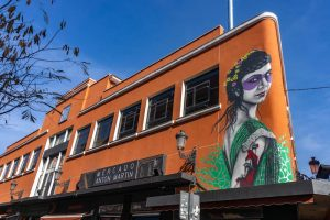 Blick auf den sehenswerten Mercado Martin