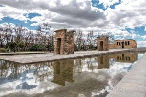 Madrid Sehenswürdigkeiten: Der Debod Tempel