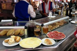 Jamon and cheese