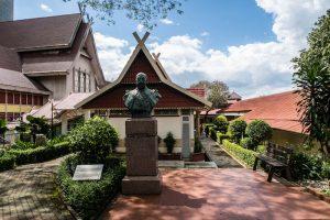 Blick auf das Nationalmuseum von Kuala Lumpur