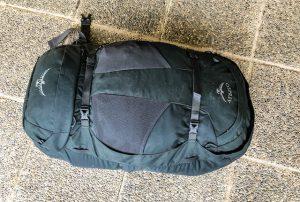 Geschlossener Rucksack