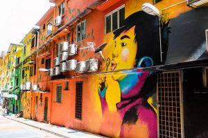 Streetart Murals in Kuala Lumpur