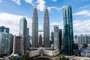 Aussicht auf Petrona Towers KL