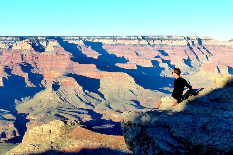 Blick auf Grand Canyon