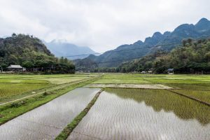 Vietnam Reiseroute in Mai Chau