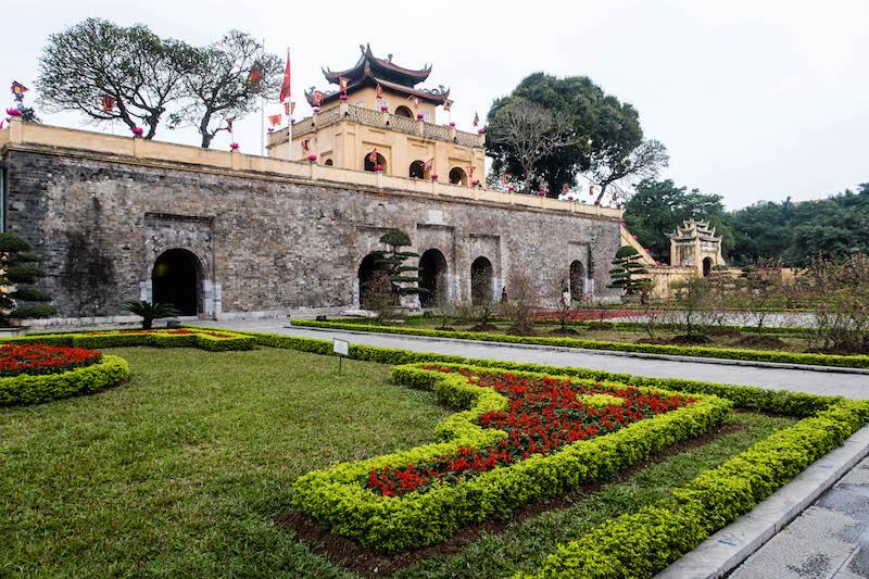 Zitadelle in Hanoi als Attraktion in Vietnam