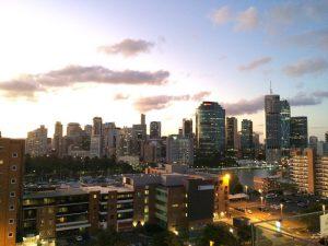 Brisbane, Australien Skyline