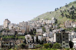 Häuser im Westjordanland