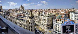 Blick auf die besten Madrid Sehenswürdigkeiten