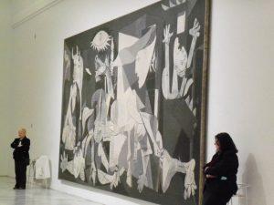 Besuch im Reina Sofia Museum beim Madrid Städtetrip