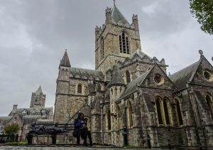 Cathedral when traveling Dublin on a budget