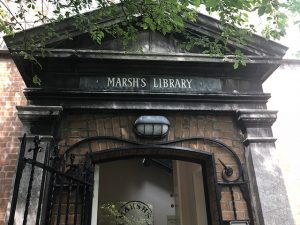 Outside view of Marshs library in Dublin