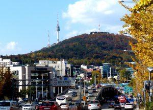 Seoul Sehenswürdigkeit: Der Namsan Berg