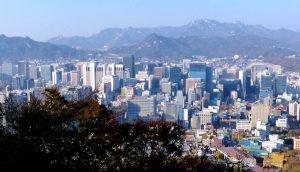Aussicht von Namsan auf Seoul