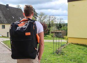 Standard Luggage Rucksack von außen