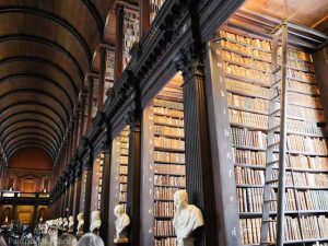 Trinity College Library inside