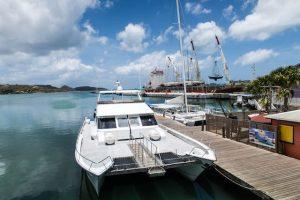 Hafen von St. Johns Antigua