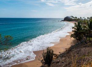 Strand im Süden der Insel