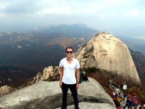 Auf dem Berg im Nationalpark