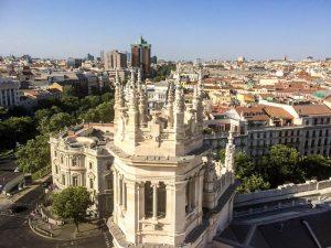 Madrid Tipps Aussicht auf Gebäude