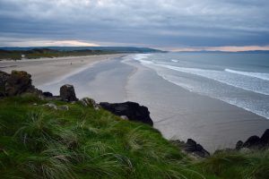 View of the beach and coast of Portstewart