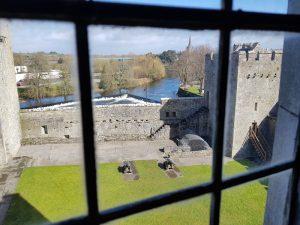 Blick aus dem Fenster von Cahir