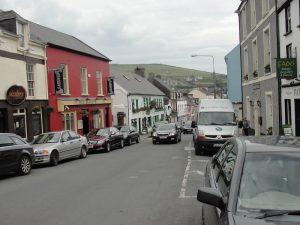 Straßen von Dingle Town