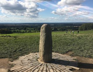 Statue am Hill of Tara