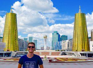 Skyline von Astana